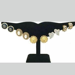 Vintage Statement Earrings Jewelry Lot